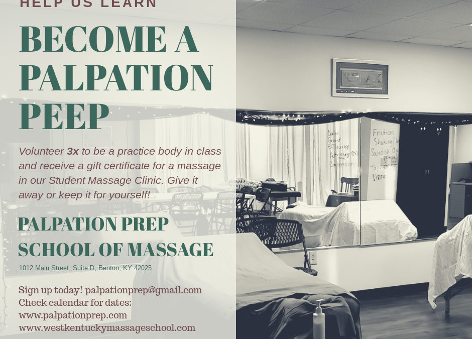 Donate your Body to the Study of Massage